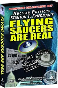 Flying Saucers Are Real DVD